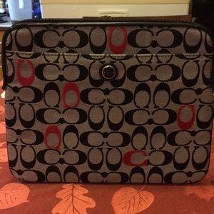 coach tablet case